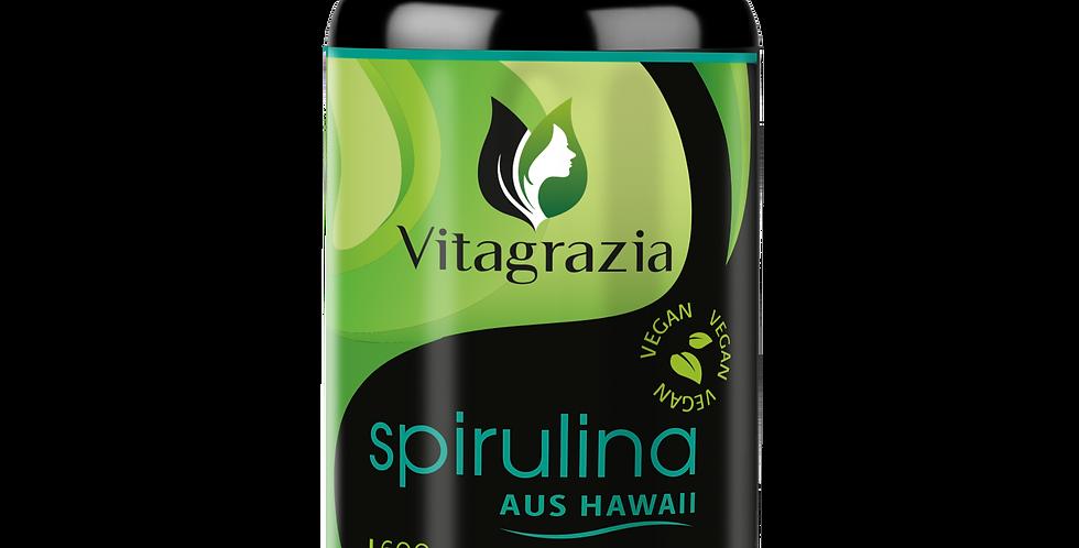 Vitagrazia® Hawaii Spirulina Presslinge - 600 Tabletten Hawaiianisches Spirulina
