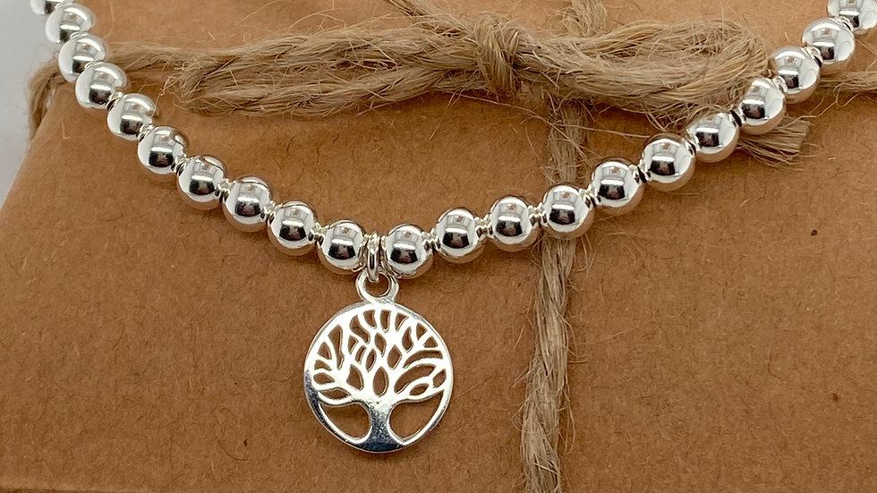 FJ Jewellery Tree of Life Bead Bracelet
