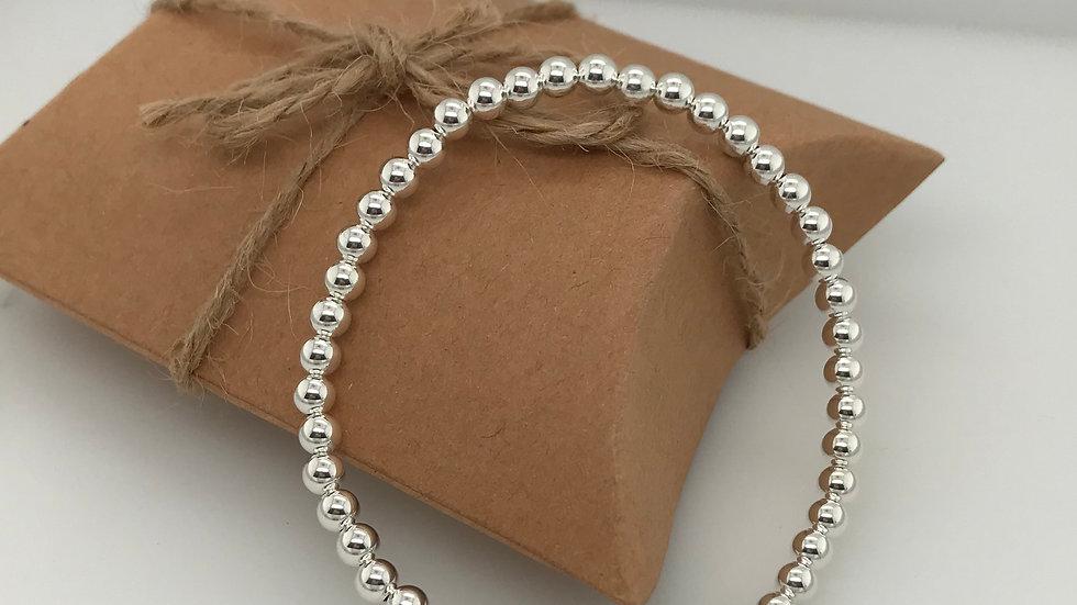 FJ Jewellery Tiger's Eye Bead Bracelet