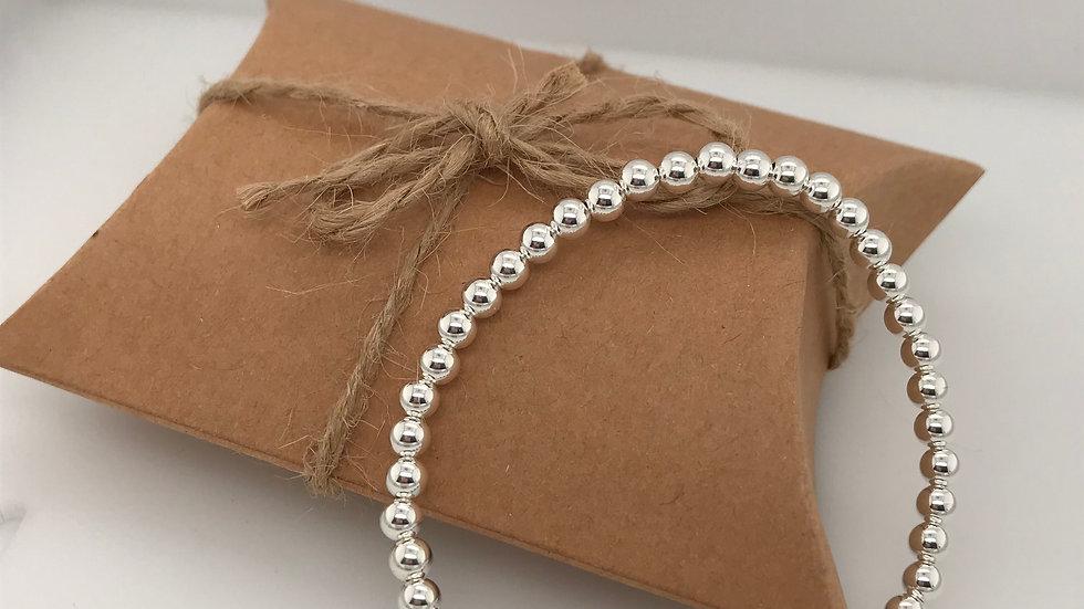 FJ Jewellery Sodalite Bead Bracelet