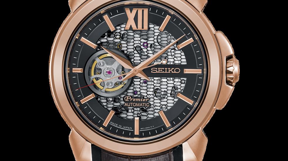 Seiko Premier Novak Djokovic Limited Edition Automatic Watch SSA374J1