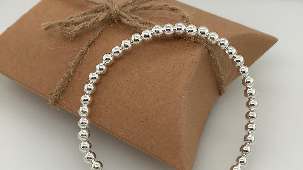 FJ Jewellery Green Aventurine Bead Bracelet