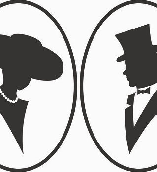 creative_man_and_woman_silhouettes_vecto