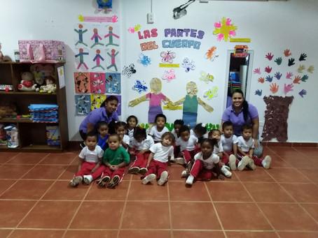 Los Niños de Primera Infancia de San Pedro Nolasco Muestran su Trabajo