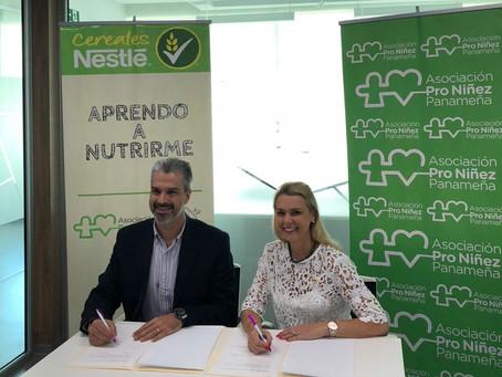 Alianza con Nestlé