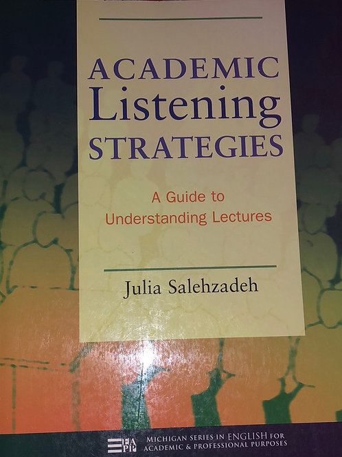 Academic listening strategies