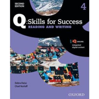 Q SKILLS 4 R/W 2nd Edition
