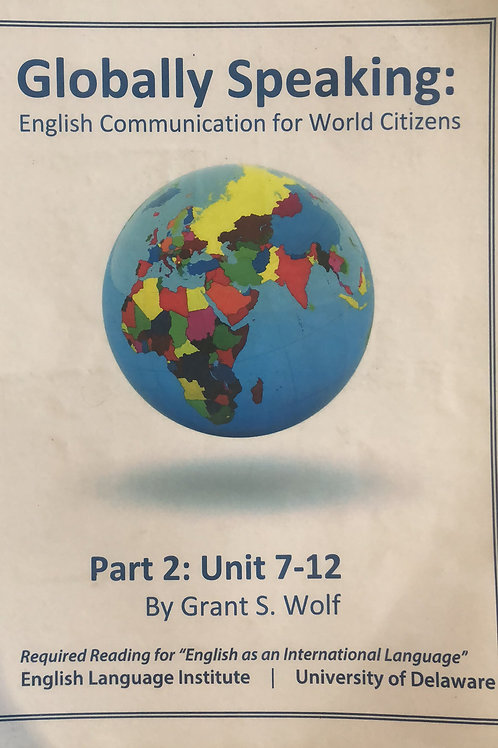 GLOBALLY SPEAKING part 2 (7-12)