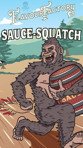 Sauce-Squatch European Flavour Factory