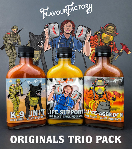 Our salute to the First Responders, European Flavour Factory