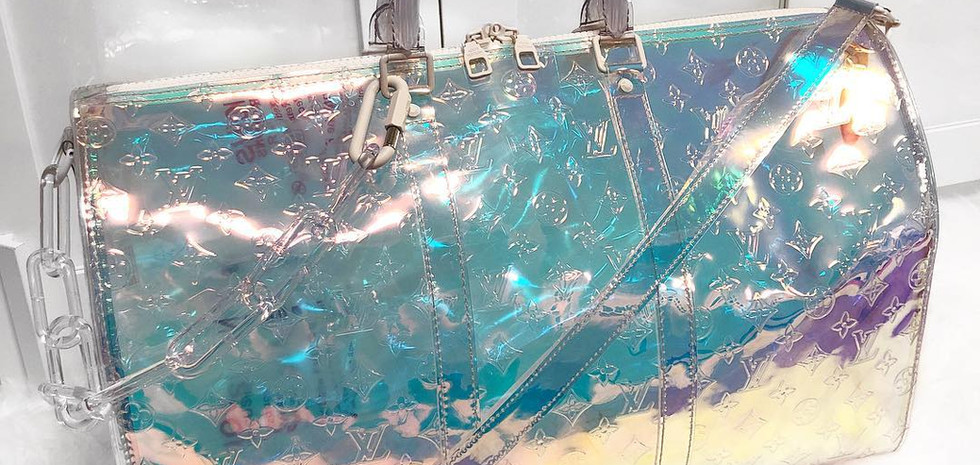 Louis Vuitton Virgil Abloh Keepall Iridescent
