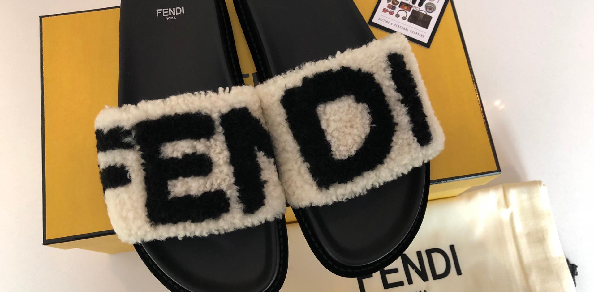 Fendi Sliders