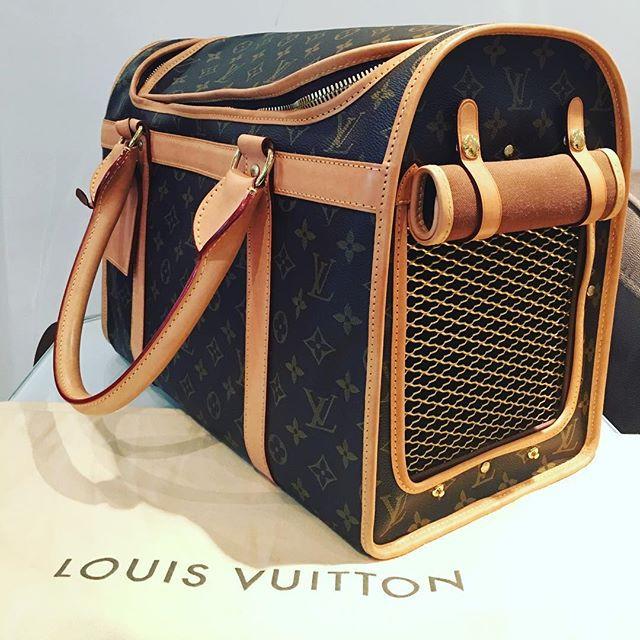 Louis Vuitton Dog Carrier