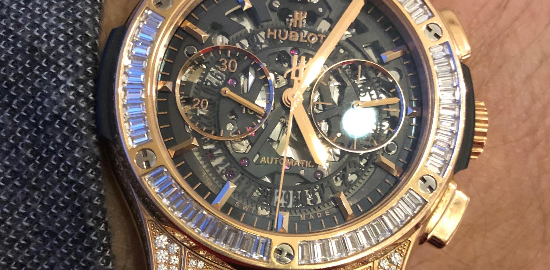 Hublot Big Bang diamond watch