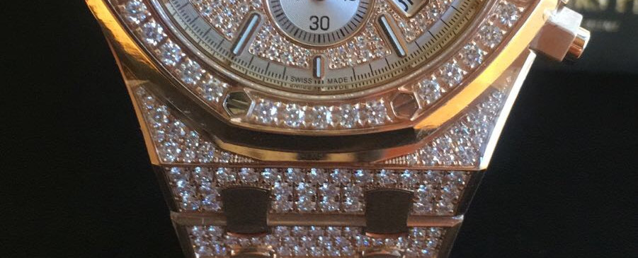 Audemars Piguet Royal Oak Diamond Watch