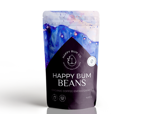 Happy Bum Beans - Organic Coffee Enema Grinds