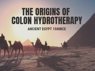 The Origins of the Ancient Practice of Colon Hydrotherapy
