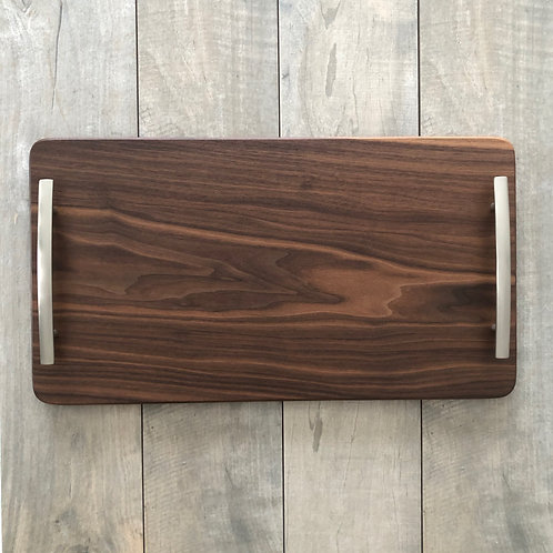 cutting board, cheese board, wooden gift, wooden present, black walnut board, one-of-a-kind, serving tray, housewarming gift