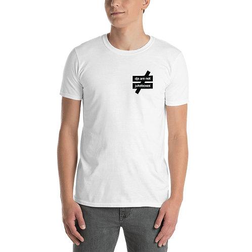 DANJ 2.0 Unisex White Tee / Black Logo