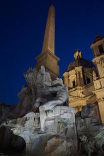 Vierströme-Brunnen auf der Piazza Navona