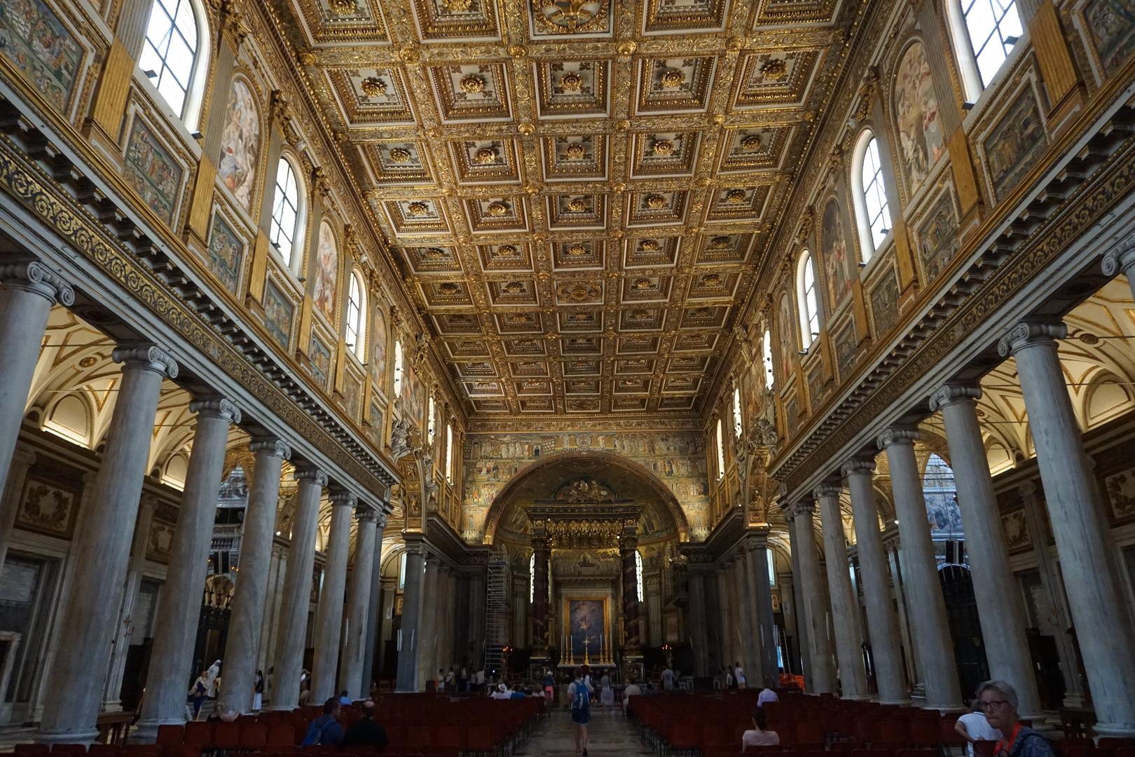 Basilika Maria Maggiore von innen