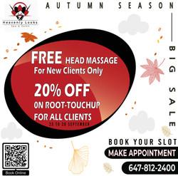 FREE Head Massage