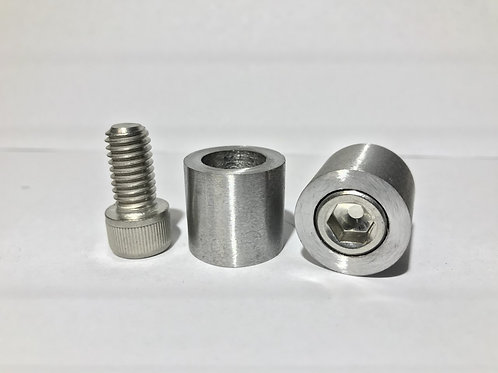 "3/8"" Countersunk Bung Stainless"