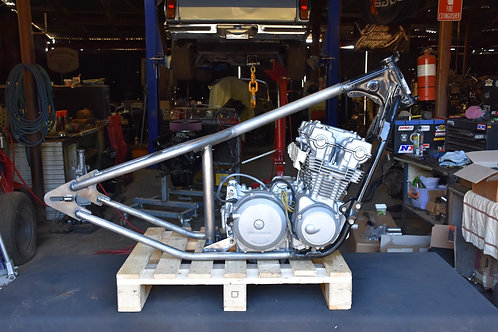 Honda CB750 Hardtail 76-82 Fitted AT DKG