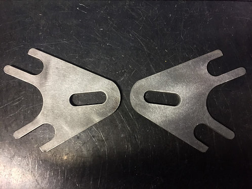 82-03 SPORTSTER HARDTAIL AXLE PLATES