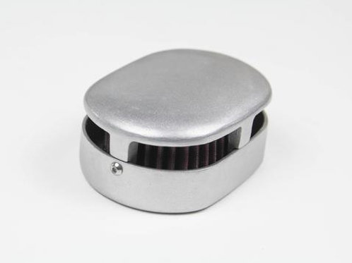 OLD-STF MINI ED AIR CLEANER WITH K&N FILTER - NATURAL FINISH