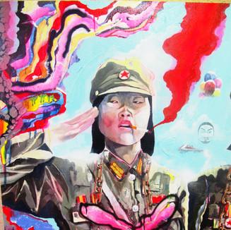 240x160 oil/acrylic/spraypaint on canvas