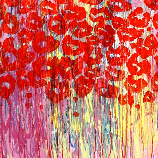 240x190 spray paint/ oil painting on canvas