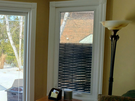 Window Treatments Before and After