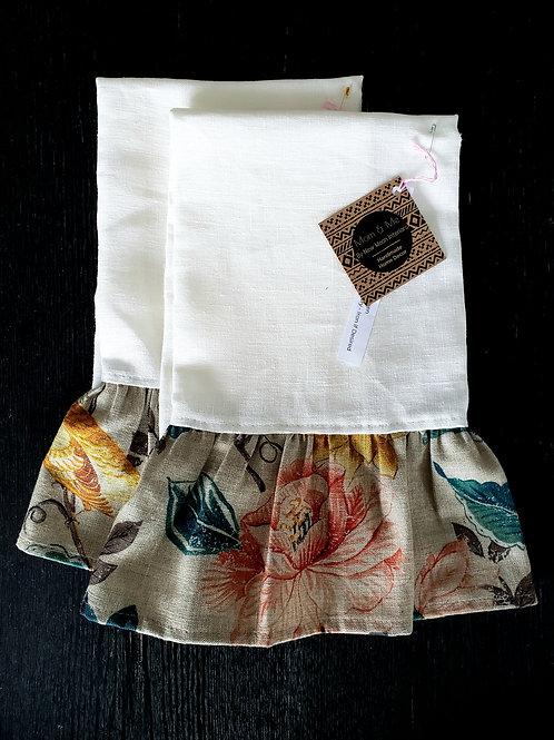 Amelia Curtsy Tea Towel