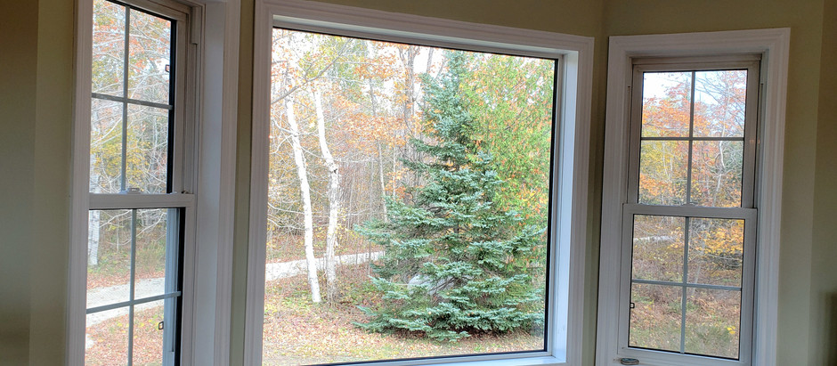 Bay Window Blind Makeover