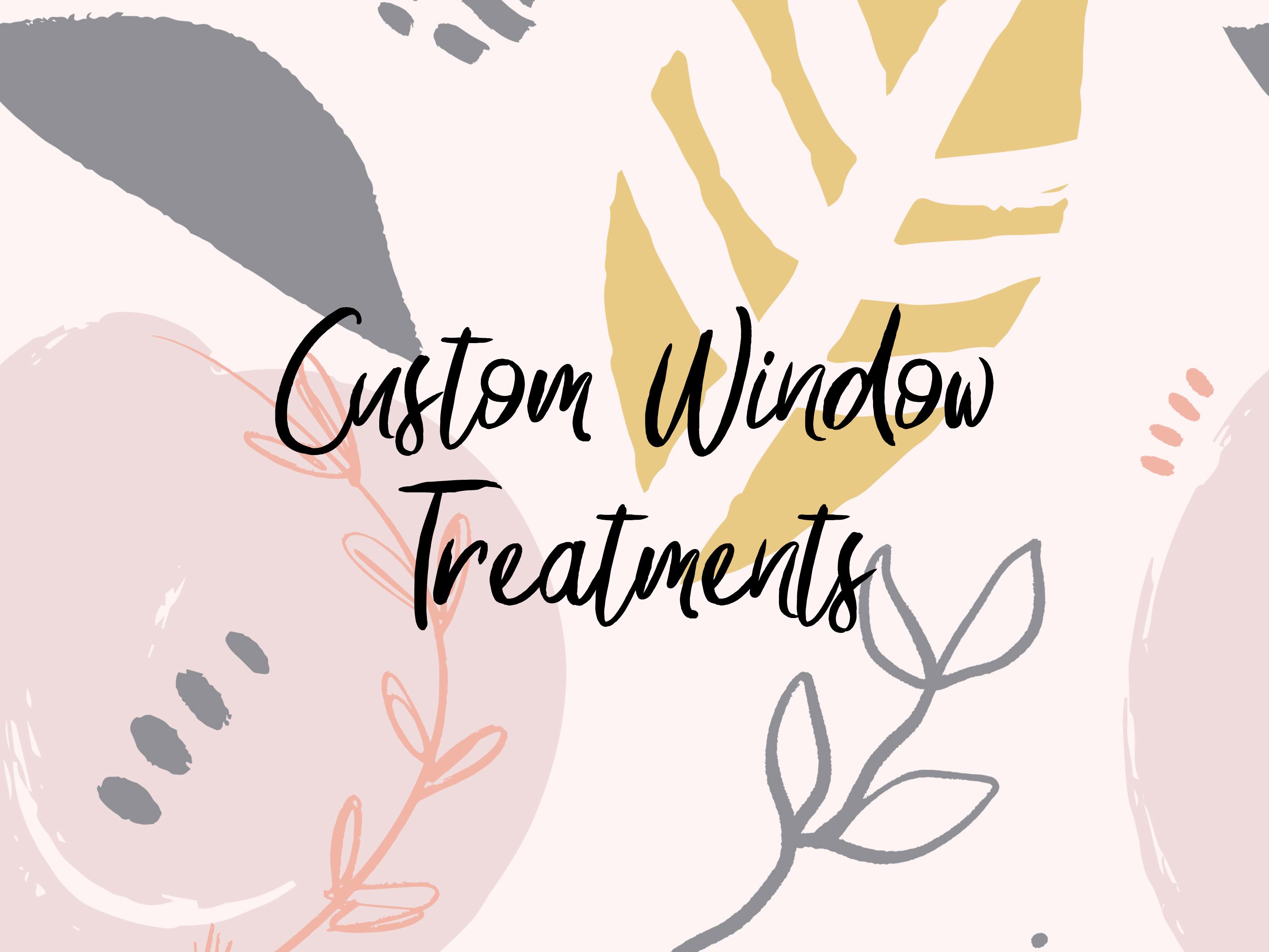 Window Treatments Consultation