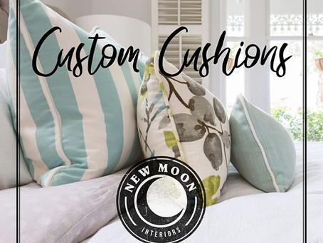 Custom Cushions!