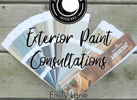 Exterior Paint Consultation!