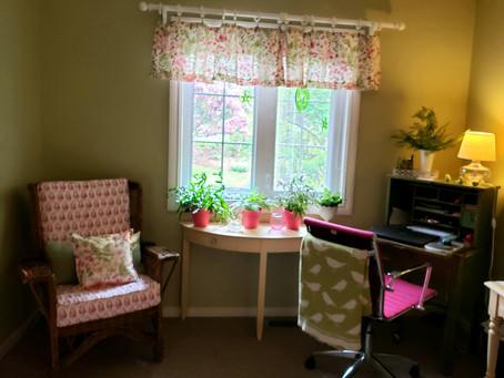 Feminine Home Office!