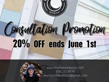 PROMOTION till JUNE 1st!