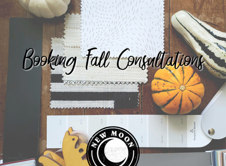 Booking Fall Consultations