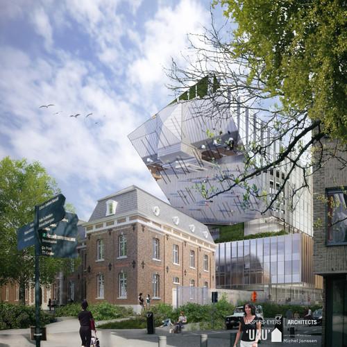 't Scheep town hall – Hasselt