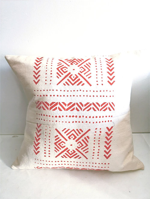 Coussin Niamey Rouge