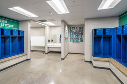 Little Rock Christian Academy Warrior Arena – Locker Room