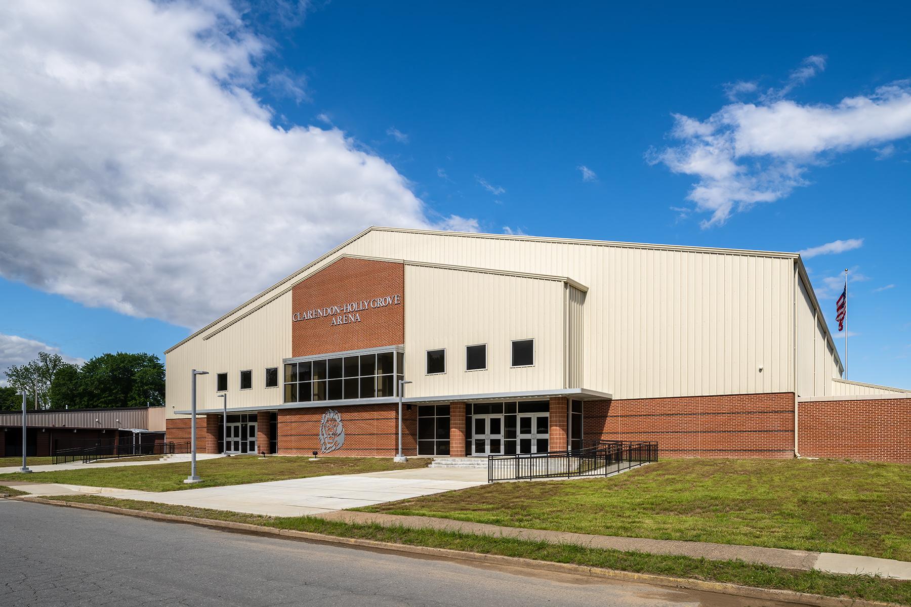 Clarendon-Holly Grove School District Arena – Exterior