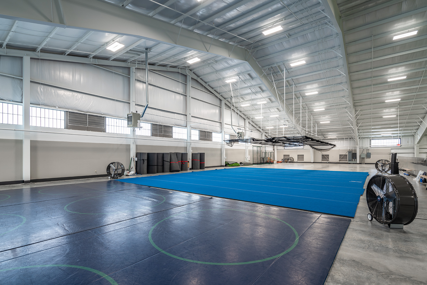Little Rock Christian Academy Warrior Athletics – Wrestling and Cheer Dance Practice Area