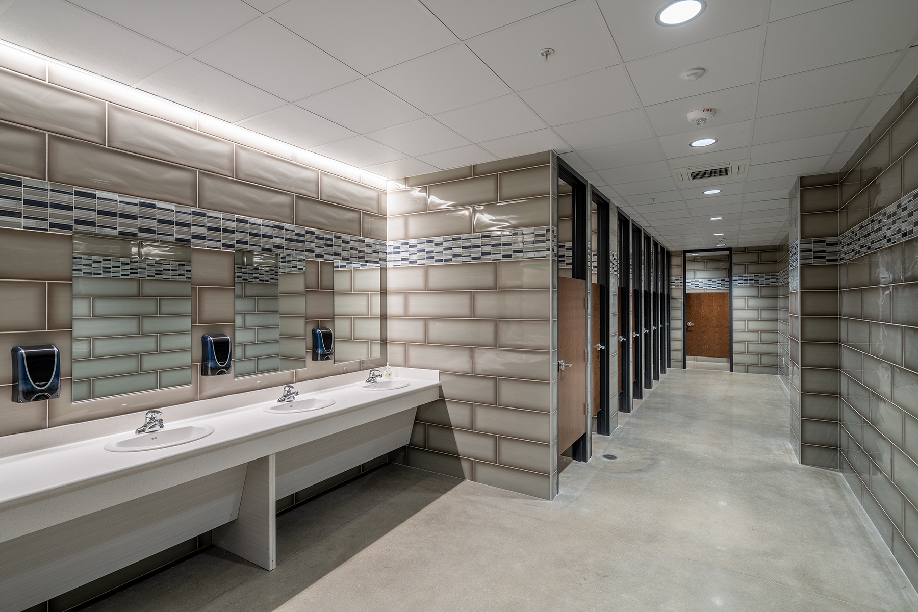 Little Rock Christian Academy Warrior Arena – Restrooms