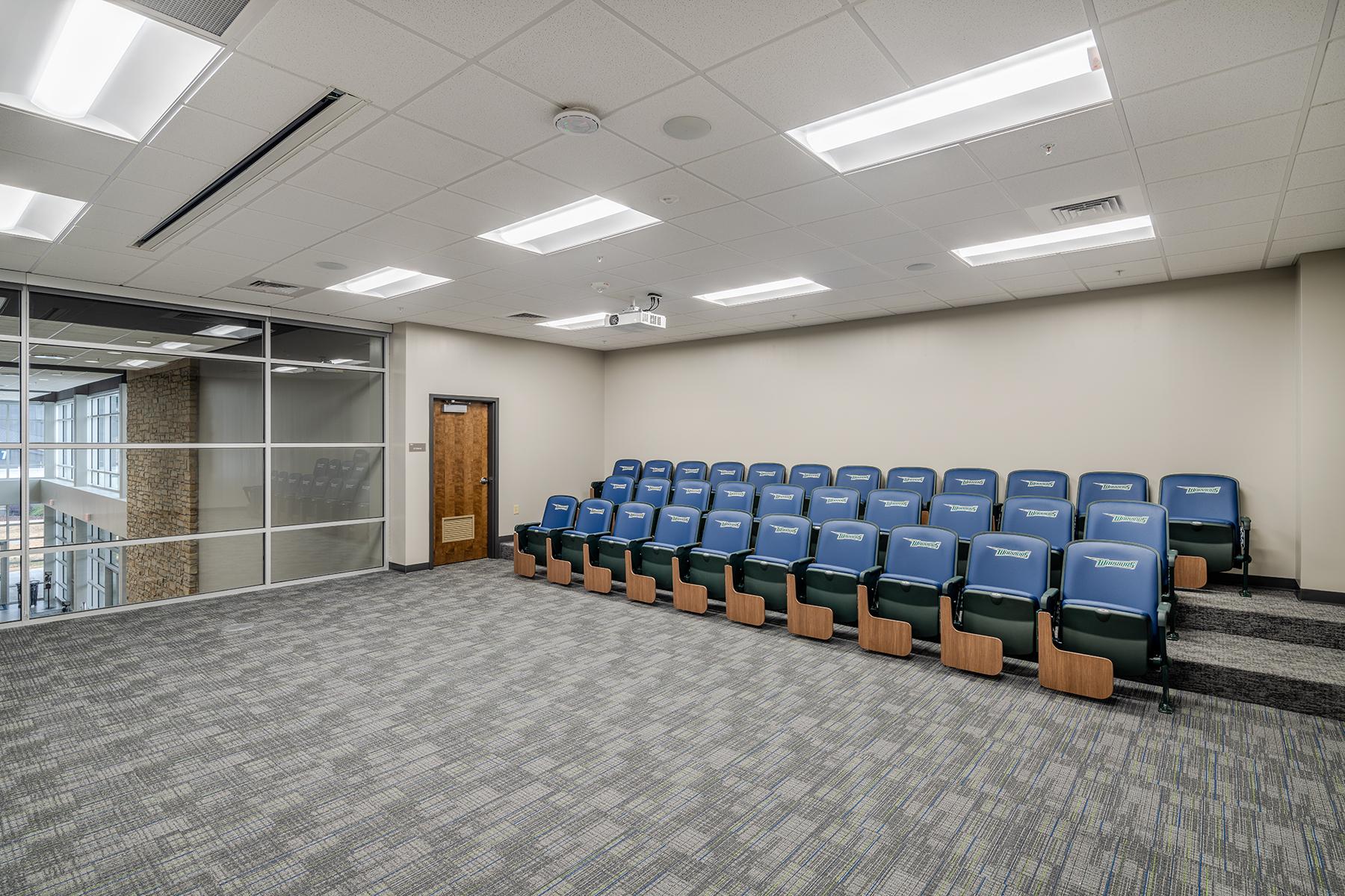 Little Rock Christian Academy Warrior Arena – Film Room