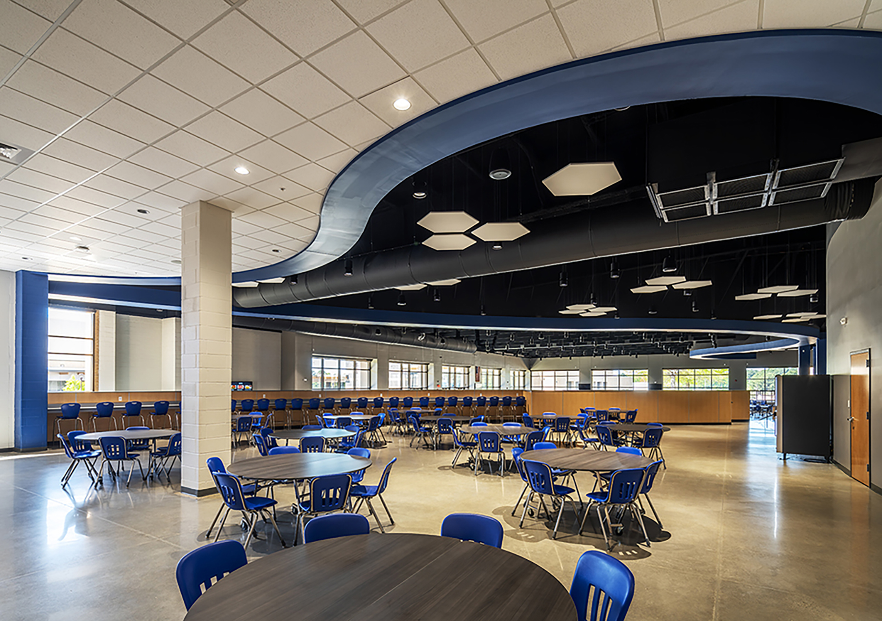 Bryant School District HS Cafeteria