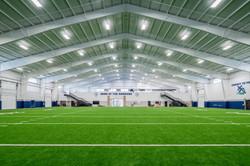 Little Rock Christian Academy Warrior Athletics – Indoor Practice Field